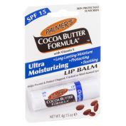 3x Palmer's Cocoa Butter Formula Lip Balm with SPF15 (3 x 4g) CHAPSTICK