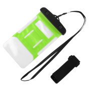 Sea Beach PVC Water Resistant Protector Case Phone Dry Bag Pouch Container Green