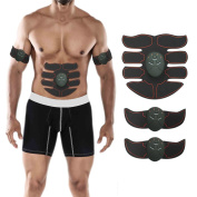 Abs Trainer, Esther Beauty Muscle Toner Abs Stimulators Abdominal Toning Belt Fitness Equipment for Men and Women
