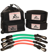 Speed Bands | Resistance band Leg Training set for Running Power Agility Acceleration Muscle Endurance and Strength | Football, Track and Field and all Sports