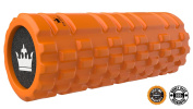 Foam Roller for Muscles Exercise & Myofascial Massage: NEW Grid Textured Rollers for Tension Release, Stretching and Deep Tissue, Trigger Point, Physio Therapy :: Instant Stress Release :