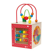 Hape Kids Educational Wooden Discovery Box Bead Maze Activity Centre Baby Toy