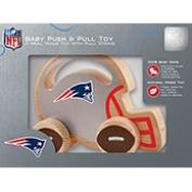 New England Patriots Push & Pull Wood Toy