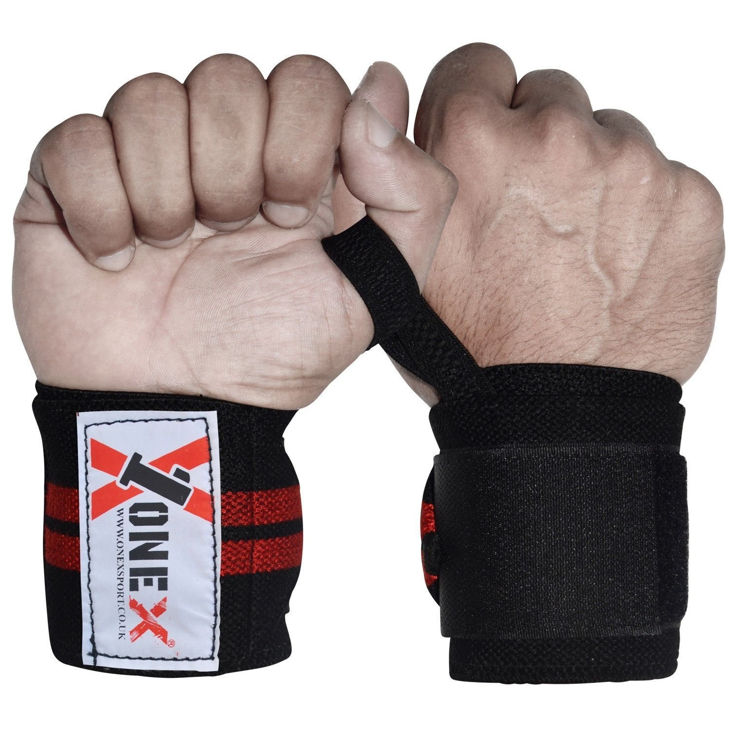 Onex Boxing Weight Lifting Hand Wrap Hand Bar Gym Straps Wrist Support Training