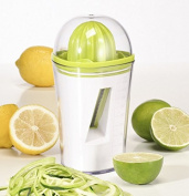 Gravidus 2-in-1 Juicer and Spiral Cutter