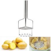 MOBU Potato Masher Double - layer Stainless Steel Potato Masher Ricer For Potatos/Sweet potatos/Pumpkin