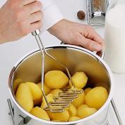 Stainless Multifunction Potato Ricer Egg Masher Mould Vegetable Fruit Crusher Kitchen Tool