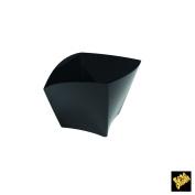 Single-Dose Finger Food Cup Curve PS 90 cc CFZ 25PZ black