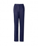 Alexandra STC-LT2000001-10R Women's Twin Pleat Trouser, 67% Polyester/33% Cotton, Plain, Regular, Size