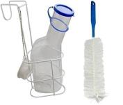 Bottle Of Urine + Bed Holder + Brush PC Quality Urine Bottle From Medi-Inn