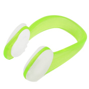 Travel Water Diving Sports Nose Clip Swimming Protector Light Green Clear