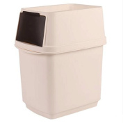 GAOLILI Creative Trash Can, Home Toilet Kitchen Bedroom Living Room Bathroom With Plastic Box With Lid Dustbins