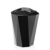 GAOLILI Living Room Office Bathroom Trash Cans, Plastic Plating Panel Mirror Cover Type Dustbins