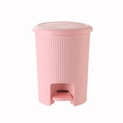 GAOLILI Creative Foot-type Trash Can, Covered Plastic, Home, Bathroom, Living Room, Kitchen, With A Foot Cover Trash Dustbins