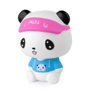 Eazy2hD 12cm Stress Reliever Squishy Cute Soft Panda Toys, Jumbo Slow Rising Squishies Panda with Scented Squeeze Toy, Gift for Kids