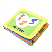 Pu Ran Intelligence Development Cloth Early Learning Book Educational Toy for Kids Baby - Number