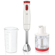 Household Stir the stick Handheld Cooking machine Blender red