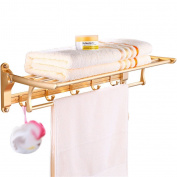Space Aluminium Wall Mounted Towel Holder Towel Rail For Bathroom Kitchen And Bedroom