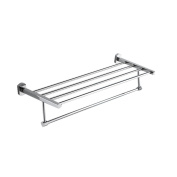 Wall Mounted Towel Holder Towel Rail for Bathroom Kitchen and Bedroom