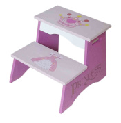 Bebe Style Childrens Princess Themed Wooden Steps