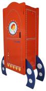 Kidsaw Ltd Kidsaw, Explorer Mini Robe, Wood, Red, 38 x 88 x 120 cm