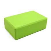 Green EVA Home Gym Sport Yoga Exercise Fitness Brick Block Poses Balance Tool