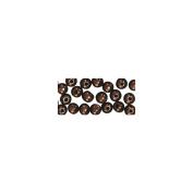 1200305 - RAYHER - 1200305 - Holzperlen, poliert, 10 mm ø, SB-Btl. 52 Stück, d.braun