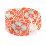 Beads Direct Pantone Jewel Loom Flame Kit, Other, Orange, 35 x 15.5 x 11.5 cm