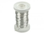 Glorex Silver Wire 0.6 mm x 15 m Silver Plated Copper Core Wire Silver 9 x 8.69 x 3.2 cm