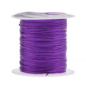 Bigood 5 rolls Strong Elastic Crystal Stretchy Beading 0.8mm Thread Rope Purple