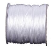 Bigood Nylon Thread Chinese Knot Macrame Braided String 1.8mm 40m White