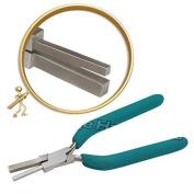 PTL® Prestige Square Mandrel Pliers Jewellery Making tools Multisize 6 mm & 8 mm