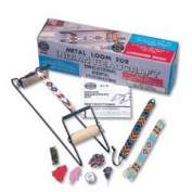 Impex Indian Bead / Beading Loom With Starter Pack of Beads, Thread, Needles & Instructions