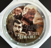 Vintage 2004 Doctor Who - The Third Doctor And The Brigadier 40th Anniversary Limited Edition Collectors Plate By Cards Inc