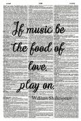 Shakepeare Quote ART PRINT - Music Art Print - Kitchen Art Print - Vintage Art Print - Inspirational Quote Art Print - Illustration - Picture - Vintage Dictionary Art Print - Wall Hanging - Book Print - Wall Art - GIFT 1132D