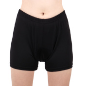 REALTOO Authorised Ladies Polyester Fibre Cycling Shorts Black S/XS