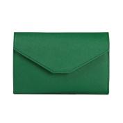 Women Faux Leather Passport Holder Wallet Travel Envelope Card Holder Cash Folded Purse