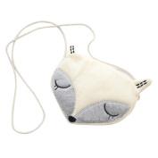 Kids Cartoon Fox Head Shape Mini Cross Body Shoulder Bag Phone Coin Pouch