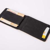 Bodhi2000 Men's Faux Leather Bifold Wallet Magnetic Cash Money Clip Slim Card holders