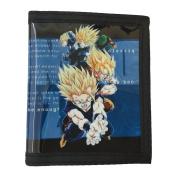 Dragon Ball Z PU Leather Wallet / Gok,Gohan,Vegeta, Piccolo