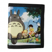 My Neighbour Totoro PU Leather Wallet / Satsuki Kusakabe, Mei Kusakabe, Totoro