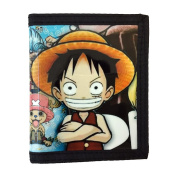 One Piece PU Leather Wallet / Straw Hat Pirates