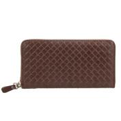 Domybest PU Long Leather Wallet Men Card Holder Business Clutch Handbag