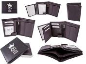 5550- BROWN Mens Genuine Leather Wallet