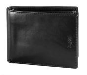 Bugatti Romano Leather Wallet, black