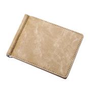 Bodhi2000® Men's Slim Bifold Wallet Faux Leather RFID Blocking Card Holder Wallets