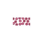 RAYHER - Holzperlen, poliert, 6 mm ø, SB-Btl. 115 Stück, pink