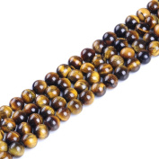 Ruilong AAAA Natural Tiger Eyes Gemstone Beads For Jewellery Making