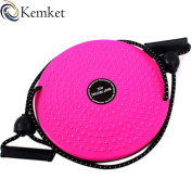 Kemket Waist Twister Disc Fitness Massage Round With Hand Ropes And Without Ropes Foot Massager Stepper wriggled plate
