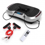 GENKI Vibration Power Plate Platform Whole Body Massage Slim Exercise Fitness Machine